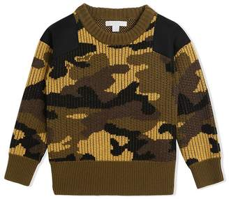 Burberry camouflage jumper