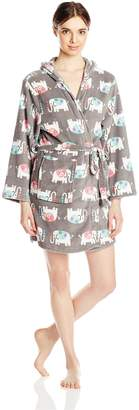 Couture PJCouture PJ Women's Ears Up Plush Robe