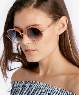 Sole Society Sophina Oversize Round Sunglasses