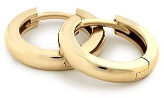Hinged Hoop Earrings in 18k Yellow Gold
