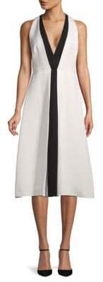 Valentino Colorblock A-Line Dress