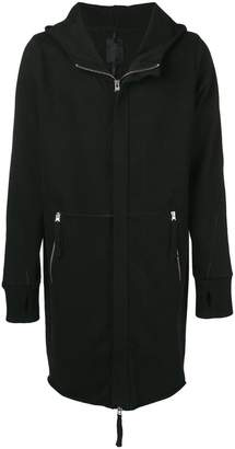 Thom Krom mid-long hooded jacket