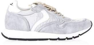Voile Blanche Liam Free Ice Leather & Nylon Sneakers