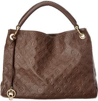 Louis Vuitton Brown Monogram Empriente Leather Artsy Mm
