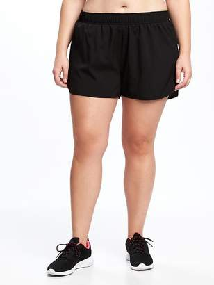 Old Navy Semi-Fitted Plus-Size Run Shorts - 3 1/2-inch inseam