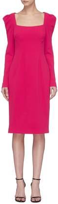 Rebecca Vallance 'Briar' cutout back crepe dress