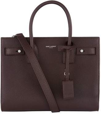 Saint Laurent Baby Leather Sac De Jour Tote Bag