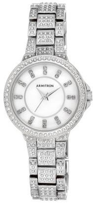 Armitron Women's Showcase Dress Watch, Metal Bracelet