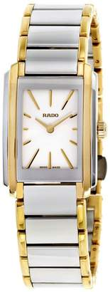 Rado Swiss Integral R20212103 Gold Tone PVD and Stainless Steel Quartz 23mm Womens Watch
