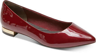 Rockport Women Total Motion Adelyn Pointed-Toe Flats Women Shoes