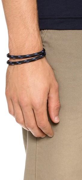 Miansai Casings Rope Bracelet