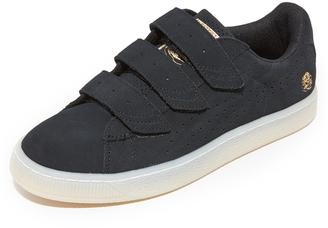 PUMA x CAREAUX Basket Velcro Sneakers $90 thestylecure.com