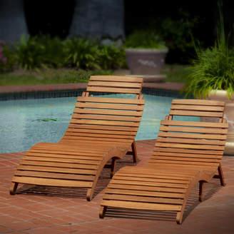 Beachcrest Home Nannette Chaise Lounge