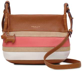 Radley Wren Street Small Zip Top Crossbody Bag - Honey