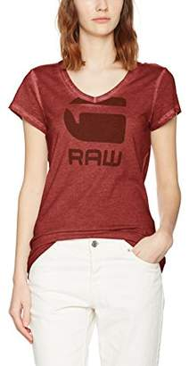 G Star Women's Suphe Slim V T Wmn S/s T-Shirt