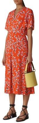 Whistles Zelena Digital-Daisy-Print Dress