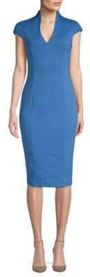 Alexia Admor Cap Sleeve Knee Length Dress
