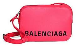 Balenciaga Women's Ville Leather Camera Bag