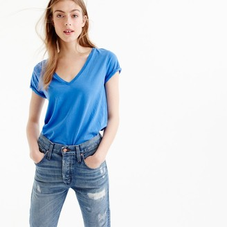 V-neck T-shirt in Supima® cotton $29.50 thestylecure.com