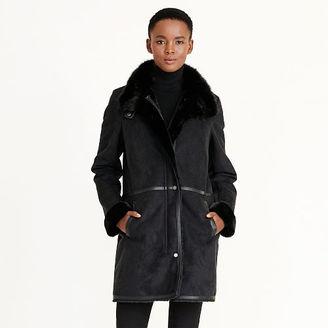 Ralph Lauren Faux-Shearling Coat $360 thestylecure.com