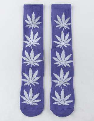 HUF Plantlife Purple Mens Crew Socks