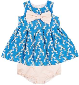Hucklebones Satin Bow Dress