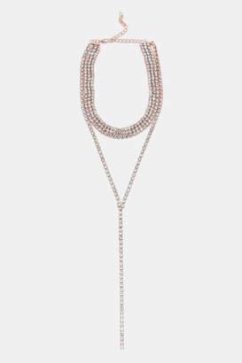 Ardene Occasion Layered Choker Necklace
