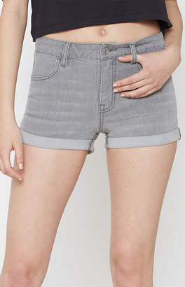 Pacsun Raaz Grey Denim Festival Shorts