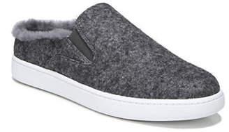 Vince Verrell-3 Shearling Felt Slip-On Sneakers