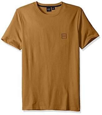 HUGO BOSS Men's Tales Basic T-Shirt with Logo