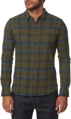 O'Neill Fisher Plaid Knit Shirt