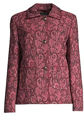 Etro Women's Tonal Paisley Jacket