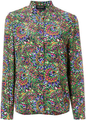 Vanessa Seward floral long-sleeve shirt