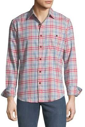 Faherty Men's Stretch Seaview Long-Sleeve Shirt