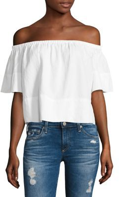 AG Jeans AG Sylvia Off-the-Shoulder Top