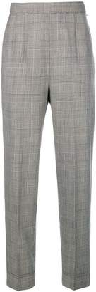 Moschino Pre-Owned check cropped trousers