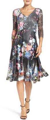 Women's Komarov Chiffon A-Line Dress $298 thestylecure.com