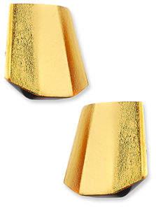 Viktoria Hayman Pyramid Earrings, Pierced