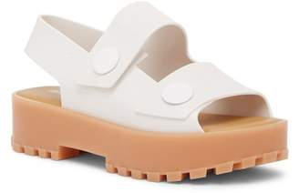 Melissa Strap Jelly Platform Sandal