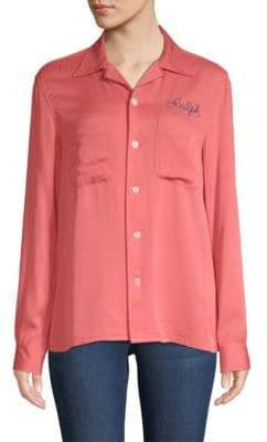 Polo Ralph Lauren Embroidered Button-Front Shirt