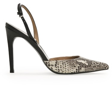 Combi Mango Outlet Snake-Effect Leather Pumps