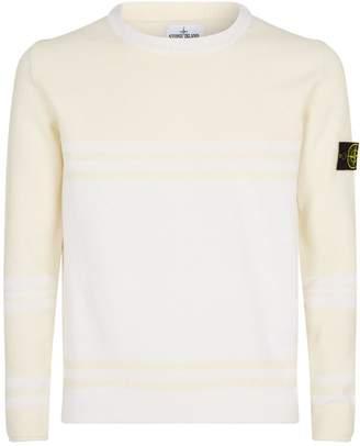 Stone Island Logo Badge Sweater