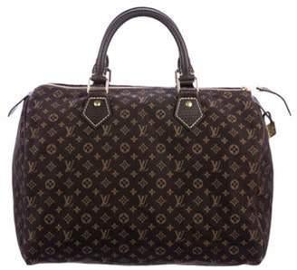 Louis Vuitton Mini Lin Speedy 30 Brown Mini Lin Speedy 30