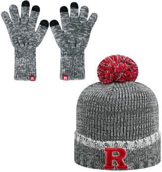 Top of the World Adult Rutgers Scarlet Knights Frostbite Beanie & Glove Set