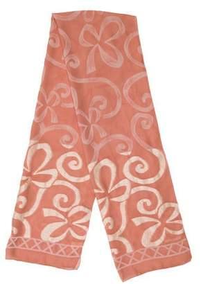Rochas Printed Silk Scarf