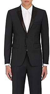 Barneys New York Burberry X Men's Wool-Mohair Sharkskin Two-Button Sportcoat - Black