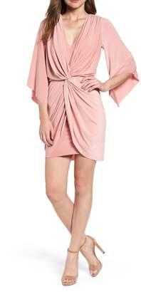 MISA LOS ANGELES Teget Knot Front Dress