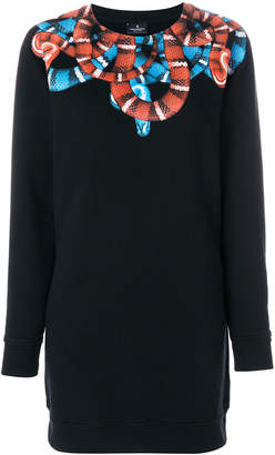 Marcelo Burlon County of Milan Banmek long crewneck sweatshirt