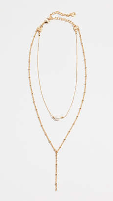 BaubleBar Harmonia Lariat Necklace
