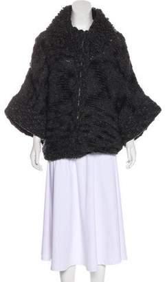 Stella McCartney Wool & Cashmere Zip-Up Cardigan